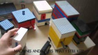 My room tour and all the legos I have