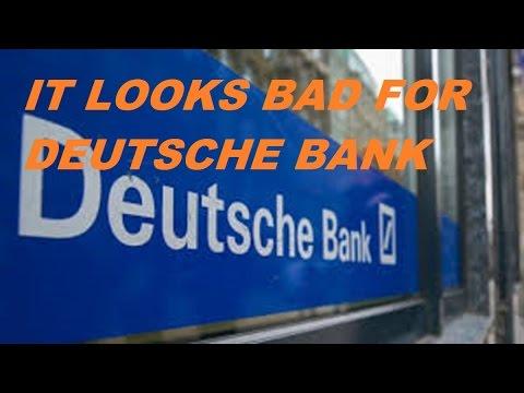 DEUTSCHE BANK IS BACK AND ITS BAD