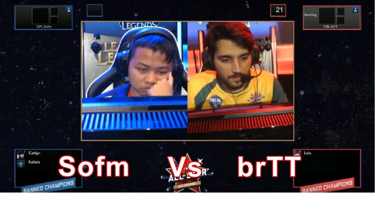 Sofm vs brTT | All Stars 2015 | Vietnam vs Brazil