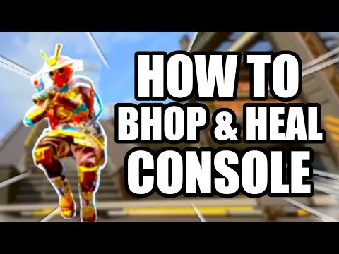 APEX LEGENDS HOW TO BUNNY HOP WHILE HEALING ON CONSOLE! DETAILED BREAKDOWN!