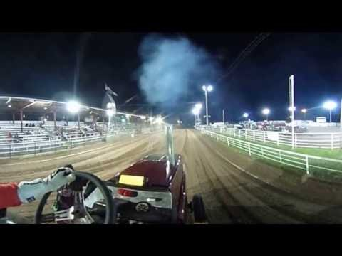 JD Farms Pulling onboard Red Rider 360 Video