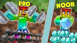 Nếu Noob Khỏe Nhất Trong Minecraft ???