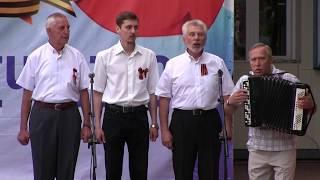 Фрагмент концерта ко Дню победы 9 мая. Белгородский Дом Офицеров - 9.05.2018.