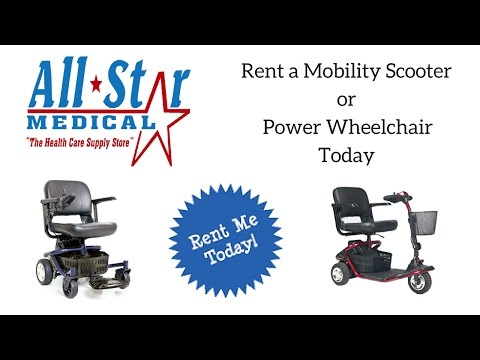 Mobility Scooter/Power Wheelchair Rentals
