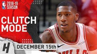 Kris Dunn CLUTCH Shots! Full Highlights Bulls vs Spurs 2018.12.15 - 24 Points, 7 Reb