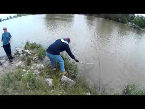 Ohio State Trooper Pulls Over 2 Huge Catfish!! :)   Fishing Vlog #3