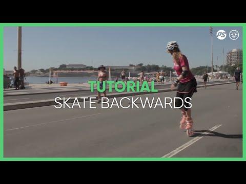 How to skate backwards - Inline skating tutorials - Powerslide Swell Triskating