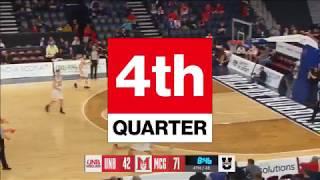 2018 U SPORTS Men's Basketball Final 8 - QF#1McGill vs. UNB