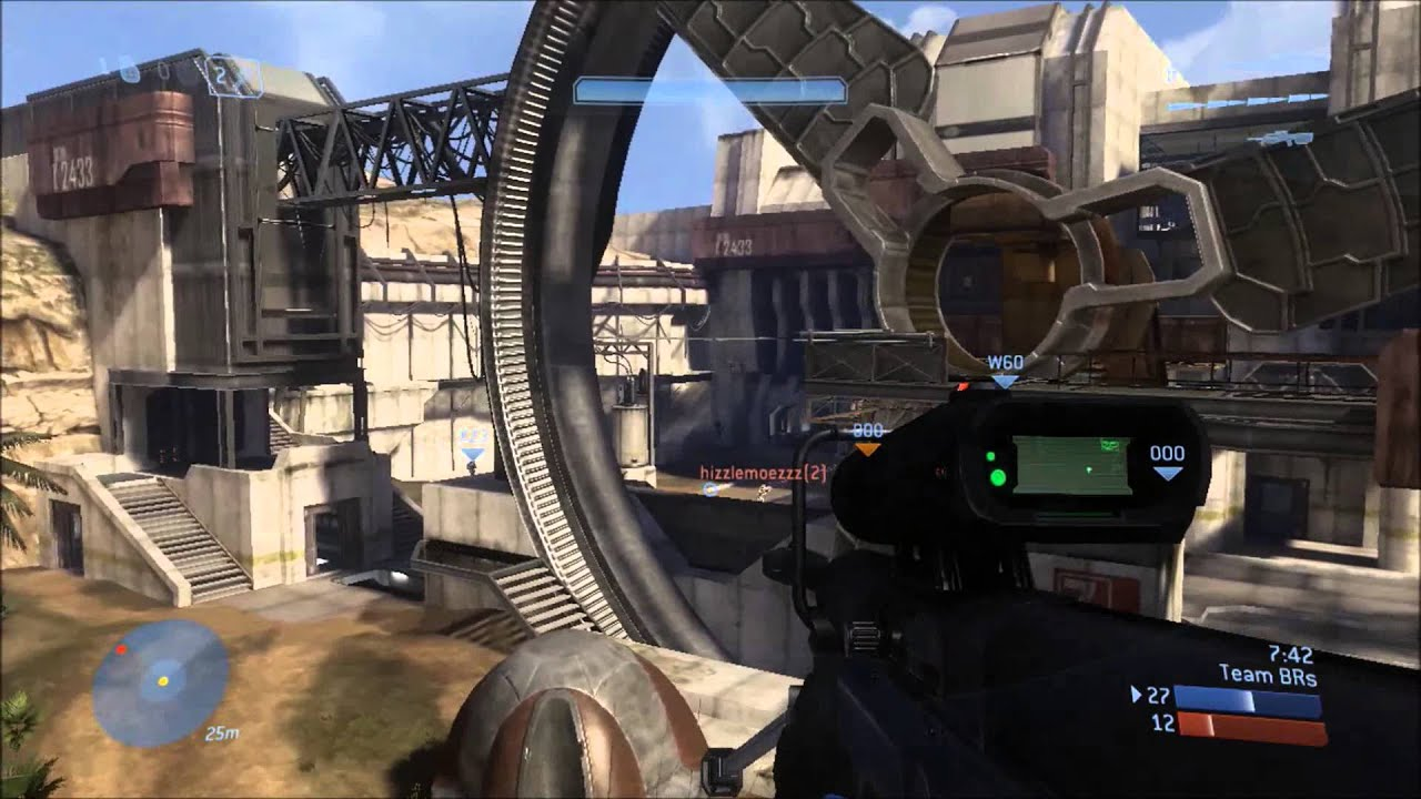 No Scott Its Not Working >> Halo 3 Gameplay :: Team Slayer on Last Resort :: Perfection 21-0 - YouTube