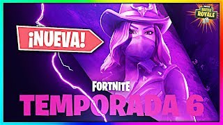SEASON 6! SALVAJE West NEW SKIN *VAQUERA* in Fortnite! (Fortnite Battle Royale Season 6)