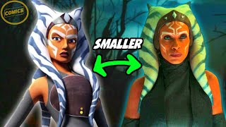 Why Ahsoka's Tails(Lekku) Are So SMALL in Mandalorian Episode! - Star Wars Explained