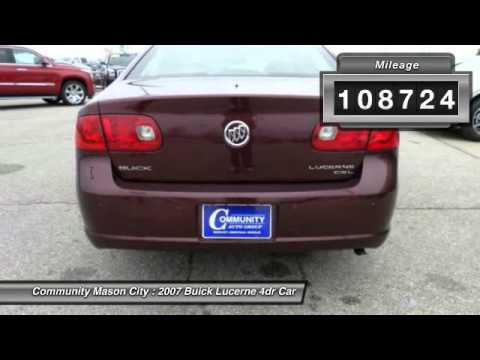 2007 buick lucerne mason city ia p1995a youtube for Community motors mason city