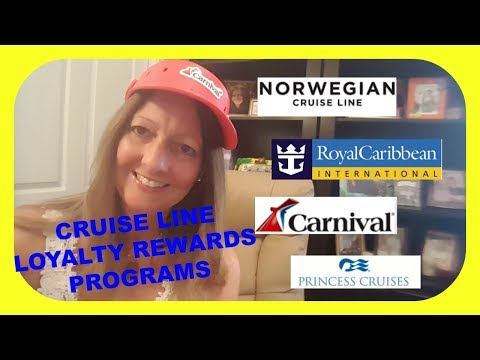 CRUISE LINE LOYALTY PROGRAMS