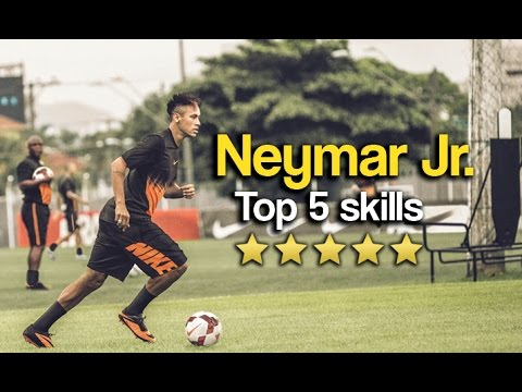 Neymar Jr. Top 5 Skills & Tricks 2018