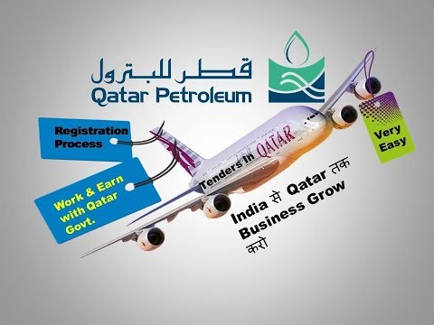 Work & Earn With Qatar Government / Tenders Jobs