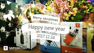 Giveaway!! vaporesso christmas gifts are coming to town!