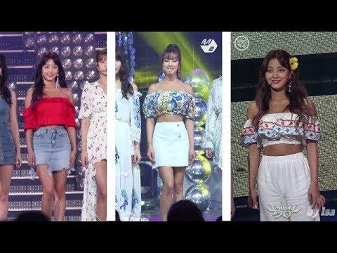 Twice Jihyo Dance The Night Away Fancam Mix Youtube