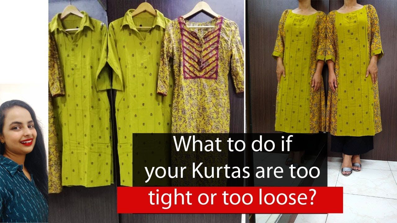 How to give your old Kurta A new look and A new fit