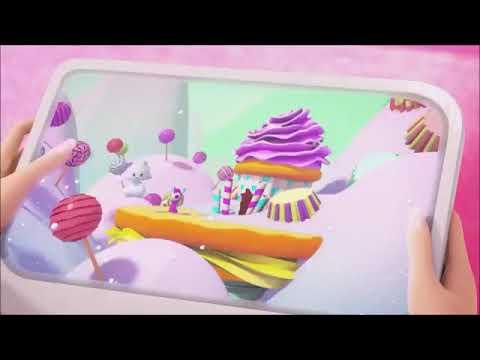 """Power Up"" Music Video (fan Made) Barbie Video Game Hero    Styilelish Barbie Girl"