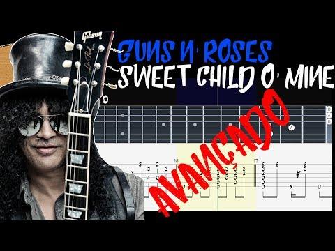Guns N' Roses - Sweet Child O' Mine (Fingerstyle Guitar)