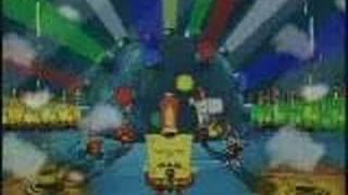 Bob Esponja - Dragon ball z (en español )