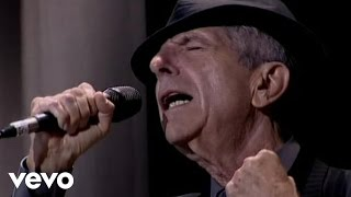 leonard cohen hallelujah live in london video edit
