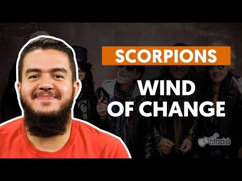 WIND OF CHANGE - Scorpions  de violão  Como tocar no violão
