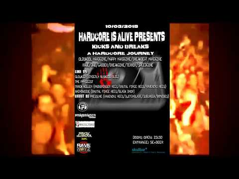HARDCORE IS ALIVE @ Skull Bar Athens (10 Μαρτίου 2018)