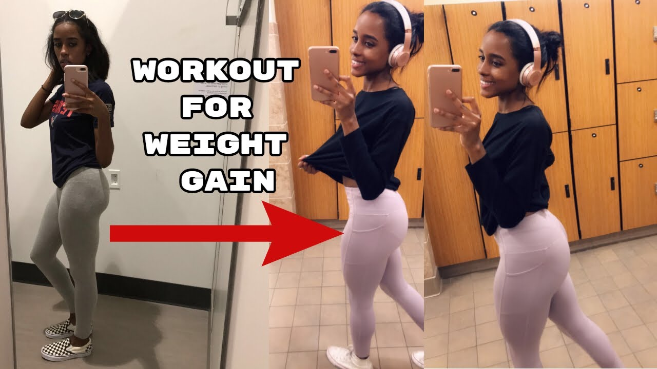 My Workout Routine to GAIN WEIGHT! + Tips | Weight Gain Journey | Beginner  Friendly*