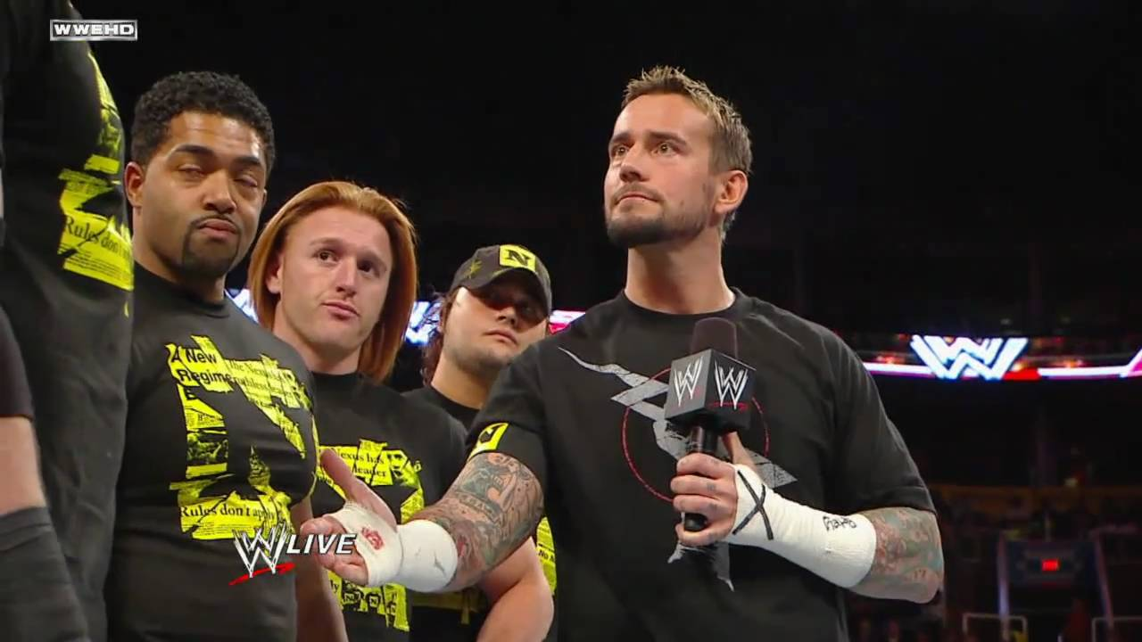Cm Punk And Wade Barrett And Nexus Segment Hd Youtube