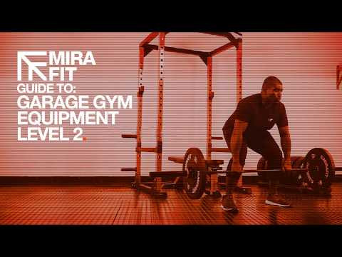 Build your garage gym with the mirafit garage gym equipment