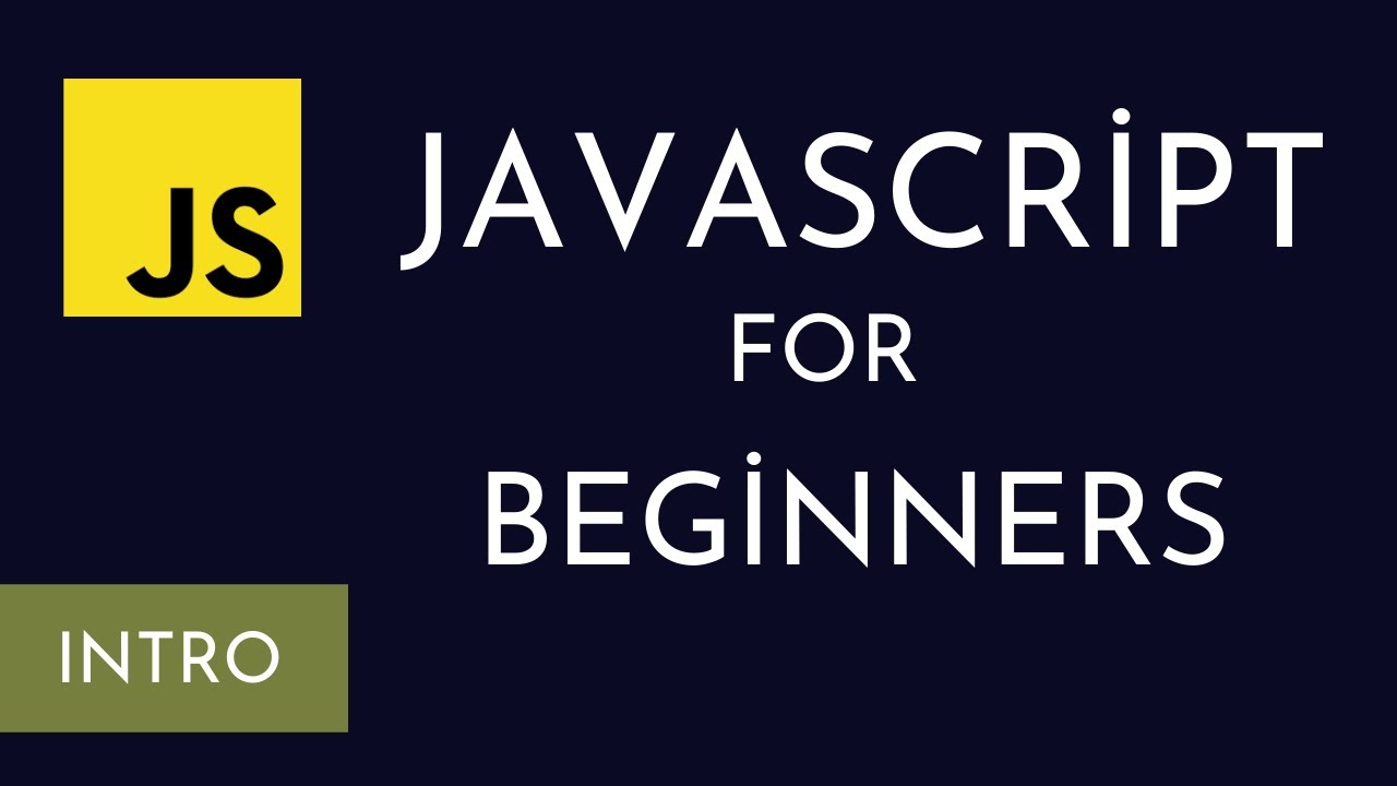 Learn Javascript | Intro to programming