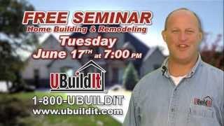 Ubuildit Houston June 17 Building & Remodeling Seminar
