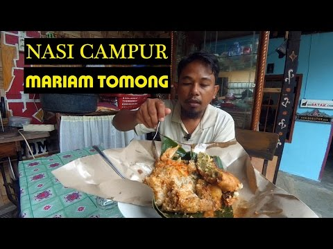 Siantar Street Food: NASI CAMPUR MARIAM TOMONG