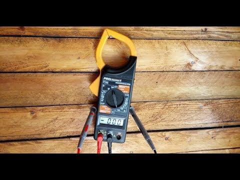 Бюджетные токовые клещи с функцией мультиметра.  Как пользоваться