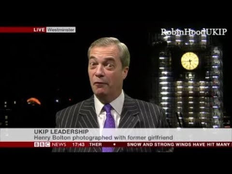 Nigel Farage says No to illegal migrants. be that children or adults