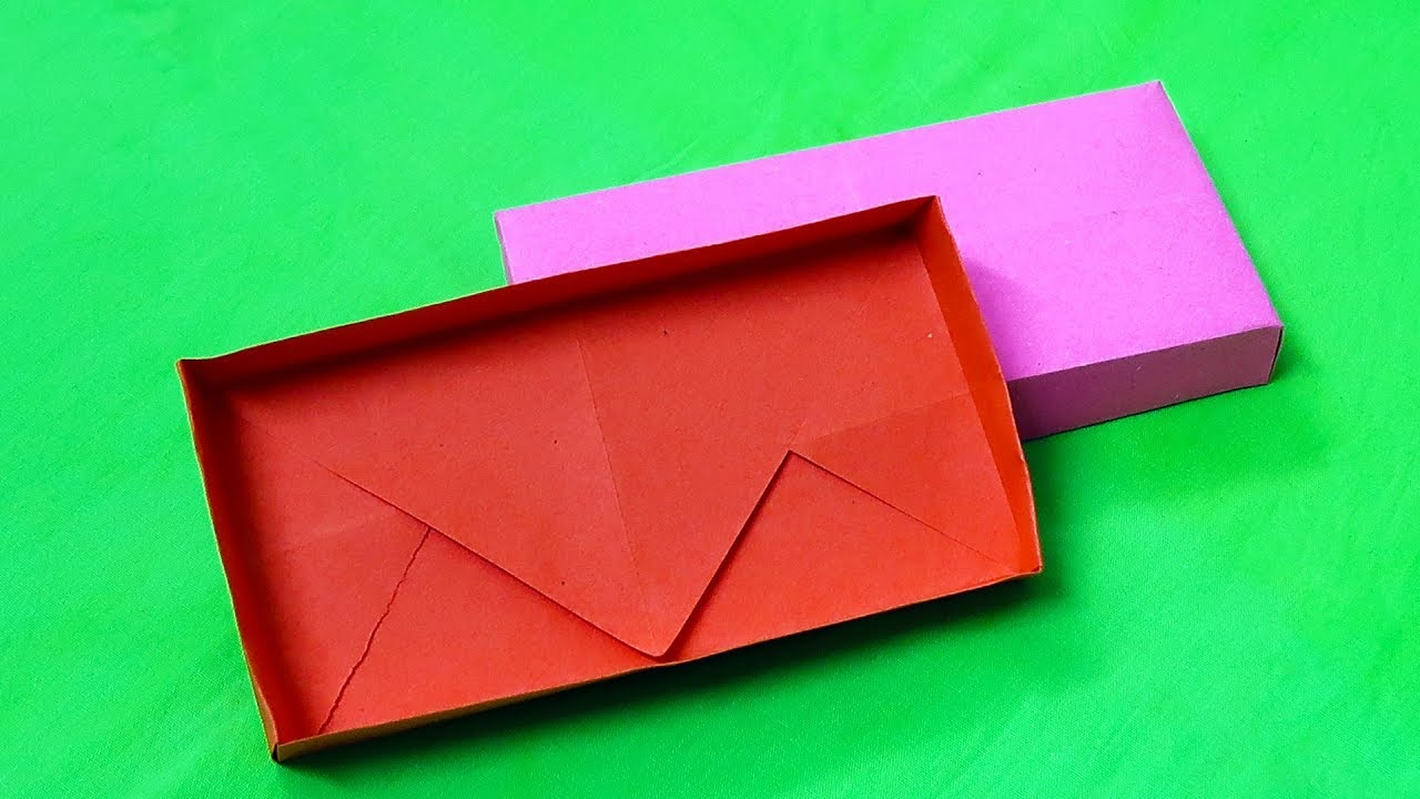 How to make a Paper Box (Rectangular Paper Box) easy tutorial ... | 720x1280