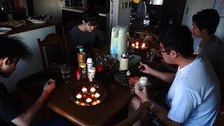 【平成30年北海道胆振東部地震】当日6日の夜ごはん 停電で夕闇が襲う前のパスタ3種