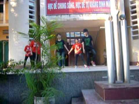 Trường  THPT Hoài Đức A (HN) [cover dance] Hey dont bring me down - DBSK - girl 11a12