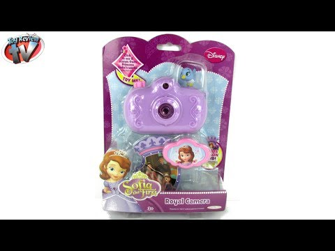 Disney Junior Sofia The First Royal Camera Toy Review, Jakks Pacific