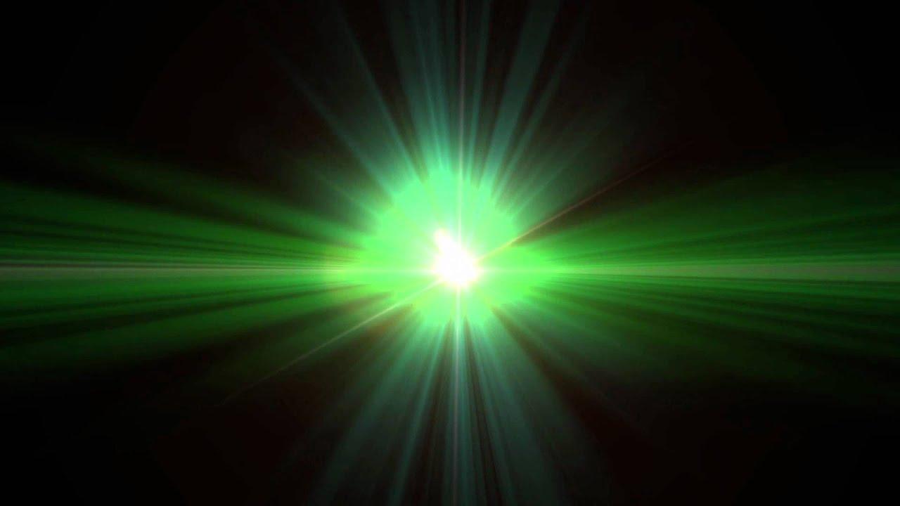 Green AlienLike Lens Flare Clip  1080  YouTube
