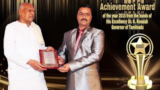 Ramya Modular Kitchen And Interiors | Received the Achivement Award of the Year 2015