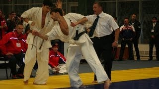 2011年10月に開催された全ロシア大会でのローマン・ネステレンコの試合...