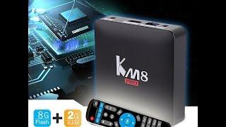 обзор km8 pro tv box 2gb ram 8gb rom 4k s912 android 6 0 bluetooth 4 0