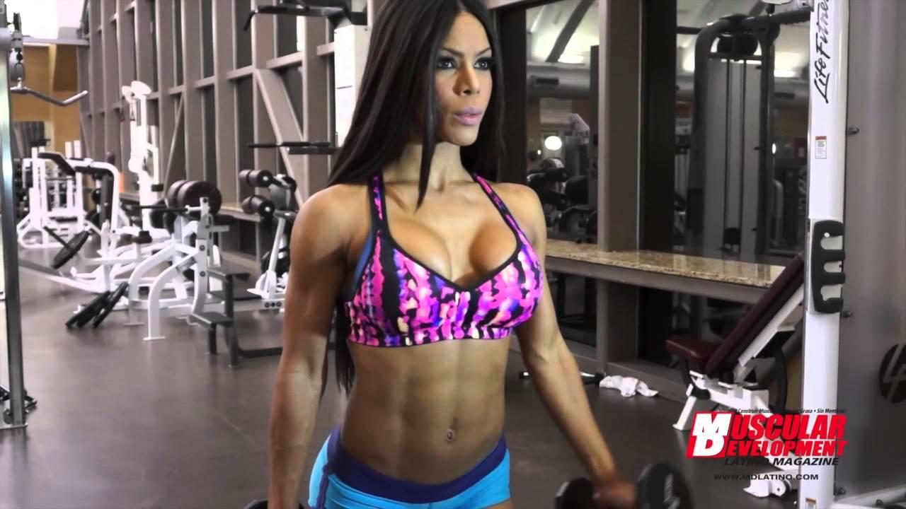 Gym Workout Girl Wallpaper Yarishna Ayala Full Body Workout Youtube