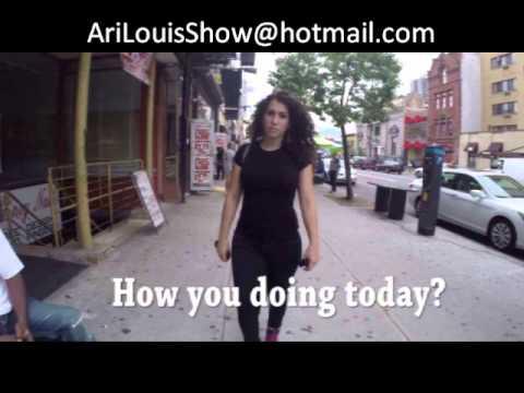 Shoshana Roberts' exclusive interview with Ari Louis