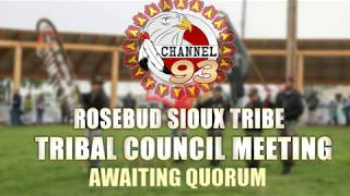 2019 Rosebud Sioux Tribe | Tribal Council Meeting 09/03/2019