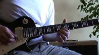 Monaco guitar solo and chords - guitar lesson + tab (Jean Francois Maurice)