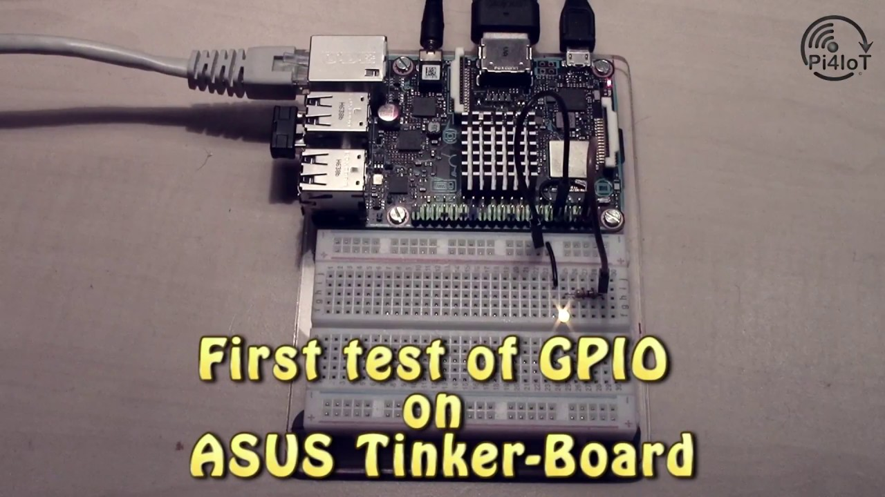 ASUS Tinker Board Part #2 – Use the GPIO Port