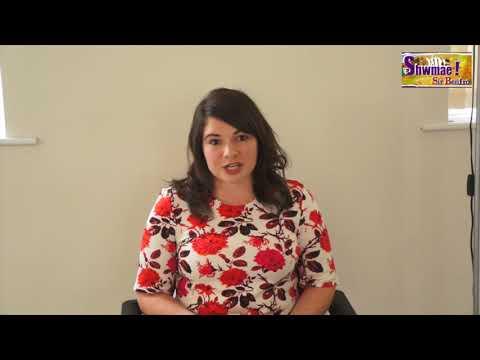 Katie Davies - Gwobr CFFI - Gwobrau Shwmae Sir Benfro 2017